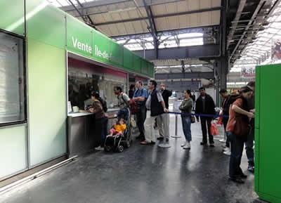 パリ東駅 paris Visite 販売所
