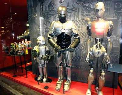 Robocop and I Robot