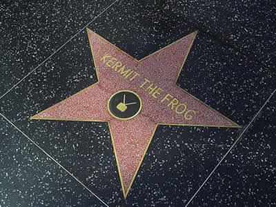 Walk of Fame kermit