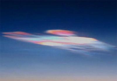 極成層圏雲