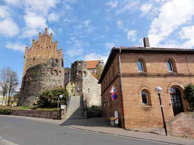 町の小さなお城