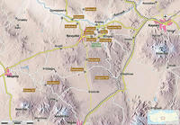 カッパドキア地図