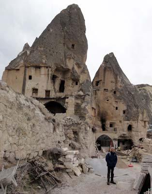 ギョレメの洞窟住居
