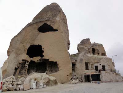 ギョレメの洞窟住居跡