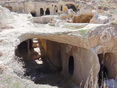 ウチヒサルの住居跡