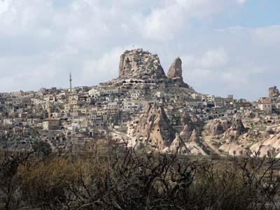 ウチヒサル城塞跡