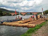木材運搬用筏