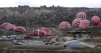 気球のスタート地点