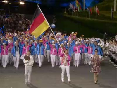ドイツ選手団