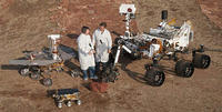火星に着陸した3つの探査機