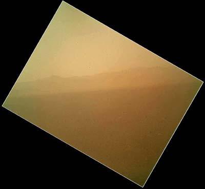火星の風景