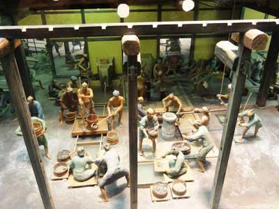 江戸時代の製錬作業崇敬