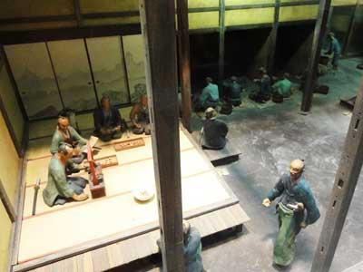 江戸時代の製錬作業風景