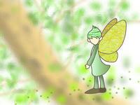 木漏れ日の中の妖精.1