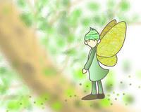 木漏れ日の中の妖精.2