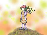 山頂のユリの妖精.1