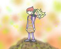 山頂のユリの妖精.2