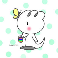 オリジナルイラスト・キャラクターのiPad用壁紙