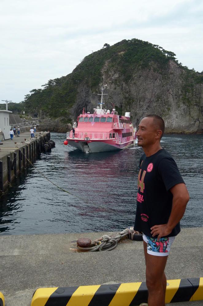 [東京都の離島] 式根島から本州へ帰る