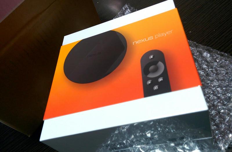Nexus Playerが日本で発売開始したので購入して開封する