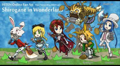 銀ーshiroganeー in Wonderland_1
