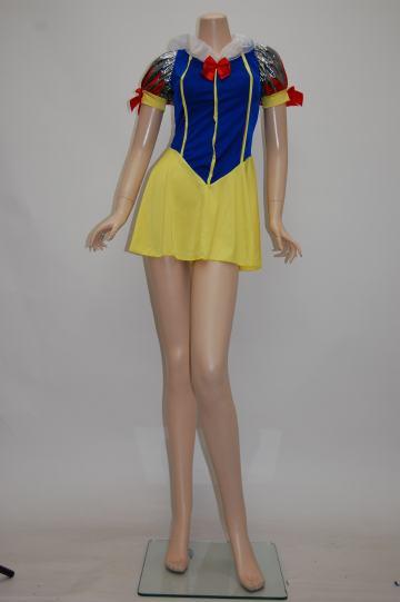 ミニ白雪姫 ブルー×イエロー コスチューム 9号