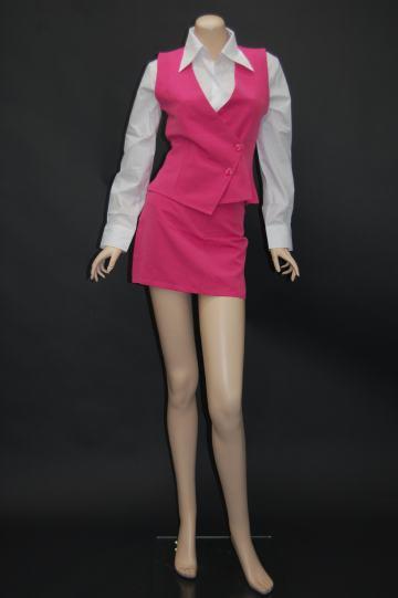 オフィスレディー ピンク コスチューム 9号