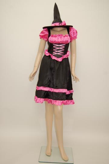 ピンクフェアリーウィッチドレス コスチューム