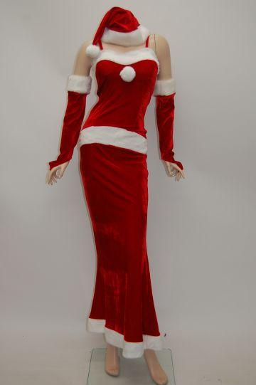 マーメイド レッド サンタドレス