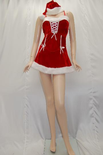 リボン付き サンタ ドレス