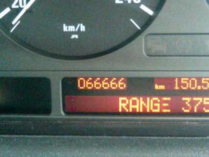 BMW 750iL E38   66666km 記念