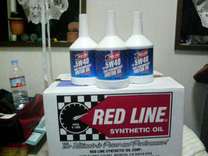 RED LINE OIL   レッドラインオイル
