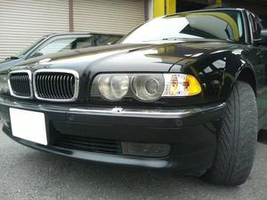 BMW E38 750iL 後期 ちょいUS仕様