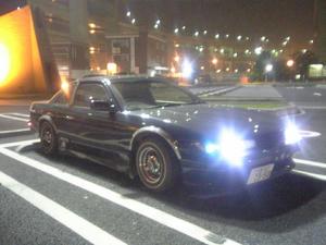 S13シルビア 大黒PAにて
