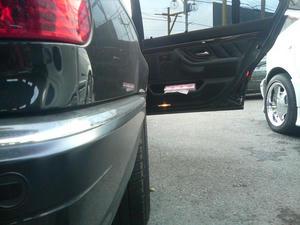 BMW E38 ワイドトレッドスペーサー取り付け