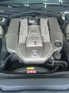AMG SL55 エンジン
