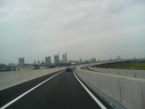 第二産業道路からさいたま新都心