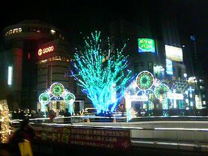 大宮クリスマスイルミネーション