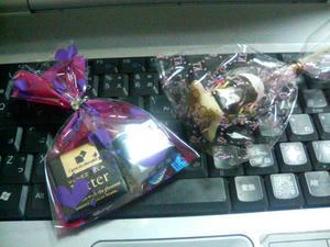 バレンタインのチョコをもらったよ