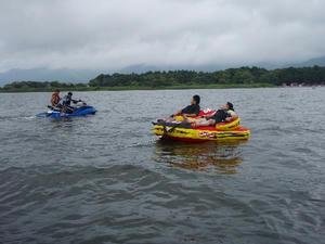 福島県猪苗代湖に行った