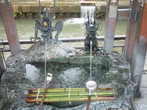 富山市石倉町延命地蔵の水