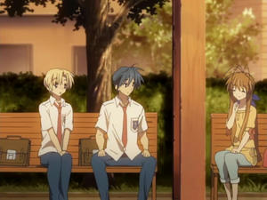 CLANNAD AFTERSTORYの 第2話 いつわりの愛をさがして