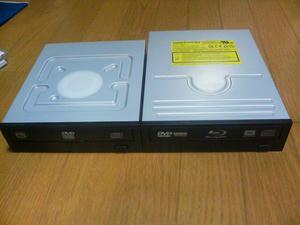 DVDドライブとBDドライブを比べてみた