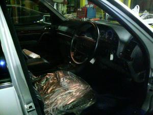 W140エアコン修理完成!