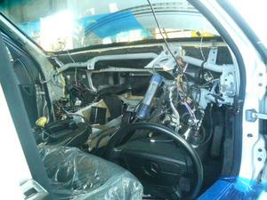 ベンツSクラス(W140)エアコン修理 エアコンユニット外れた