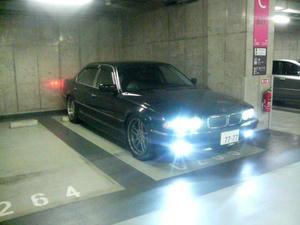 アキバUDX地下駐車場