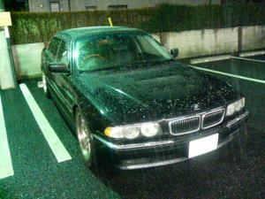 BMW 雪さむ
