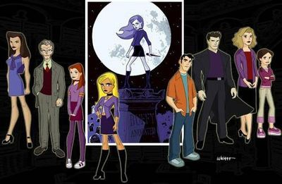 Buffy the Vampire Slayer the Animated Series