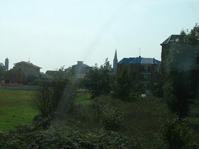 ミラノ~トリノ車窓