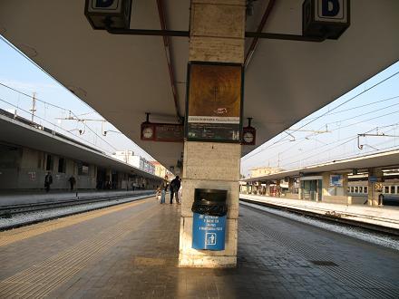 ヴェネチア駅ホーム